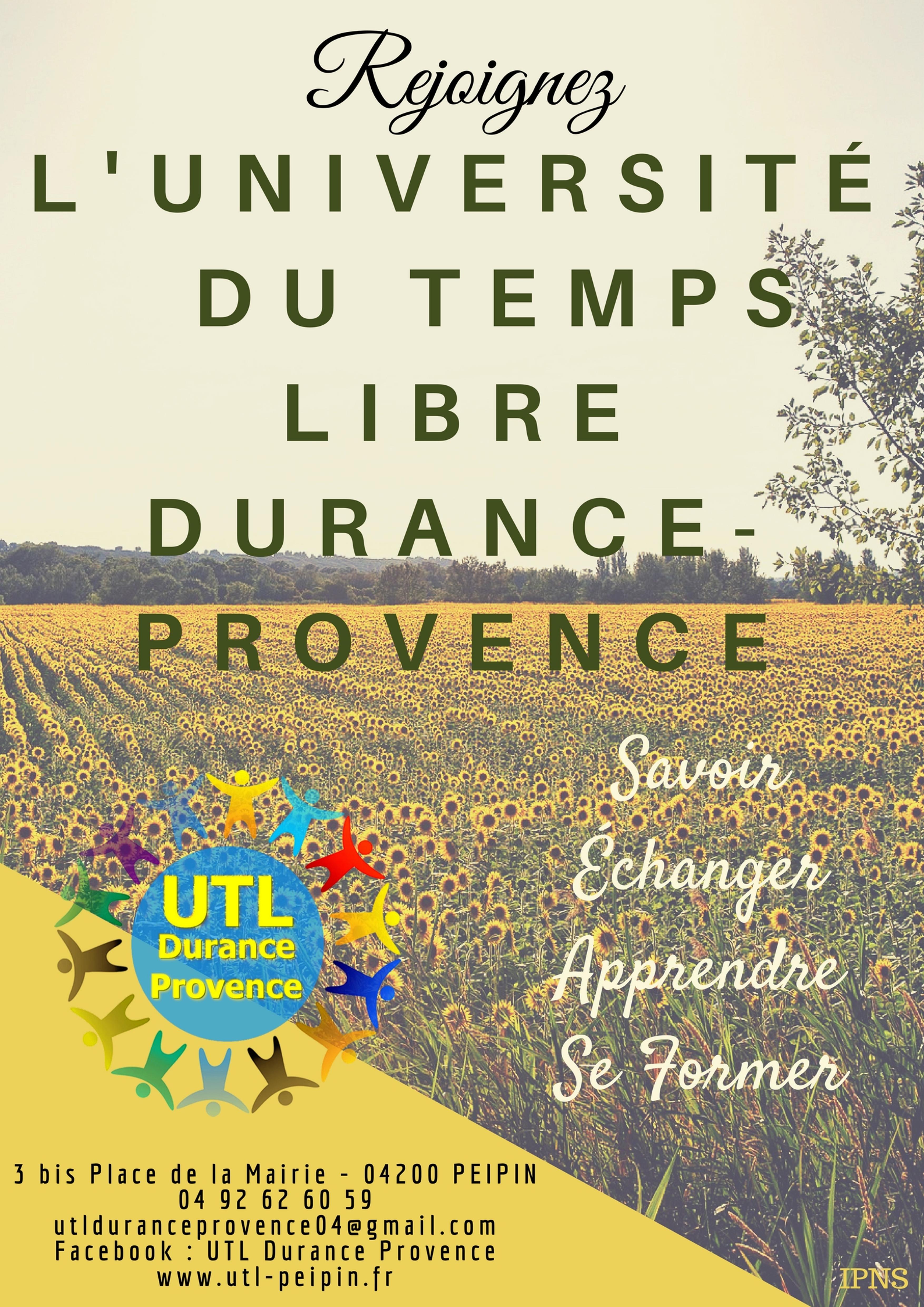 Affiche UTL