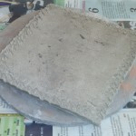 fabrication du pot pour le kusamono